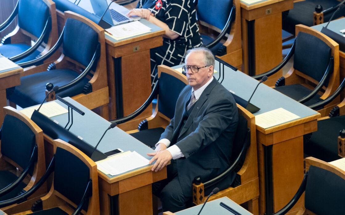 """""""Välispoliitika arengukava 2030"""" arutelu, väliskomisjoni esimees Enn Eesmaa"""