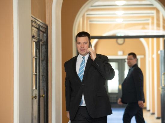 Peaminister Jüri Ratas