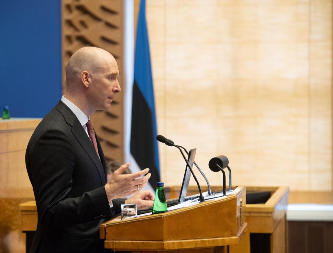 """Olulise tähtsusega riikliku küsimuse """"Eesti eelarvepoliitika"""" arutelu"""