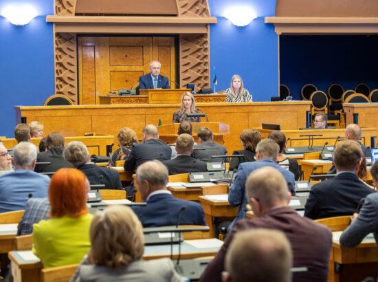 Riigikogu erakorraline istungjärk