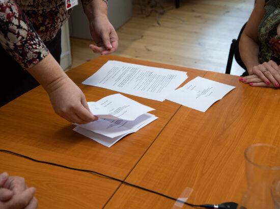 Hääletussedelite lugemine