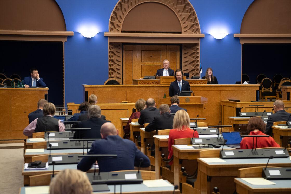 Sotsiaaldemokraatliku Erakonna fraktsiooni esimees Indrek Saar