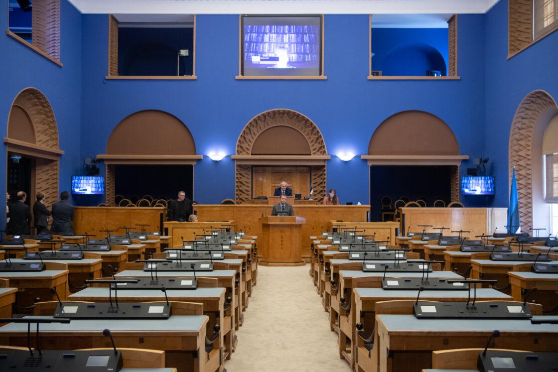 Kaugosalusega täiskogu istungi testimine