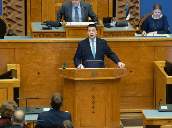 Täiskogu istung, peaministri poliitiline avaldus seoses riigi pikaajalise arengustrateegiaga