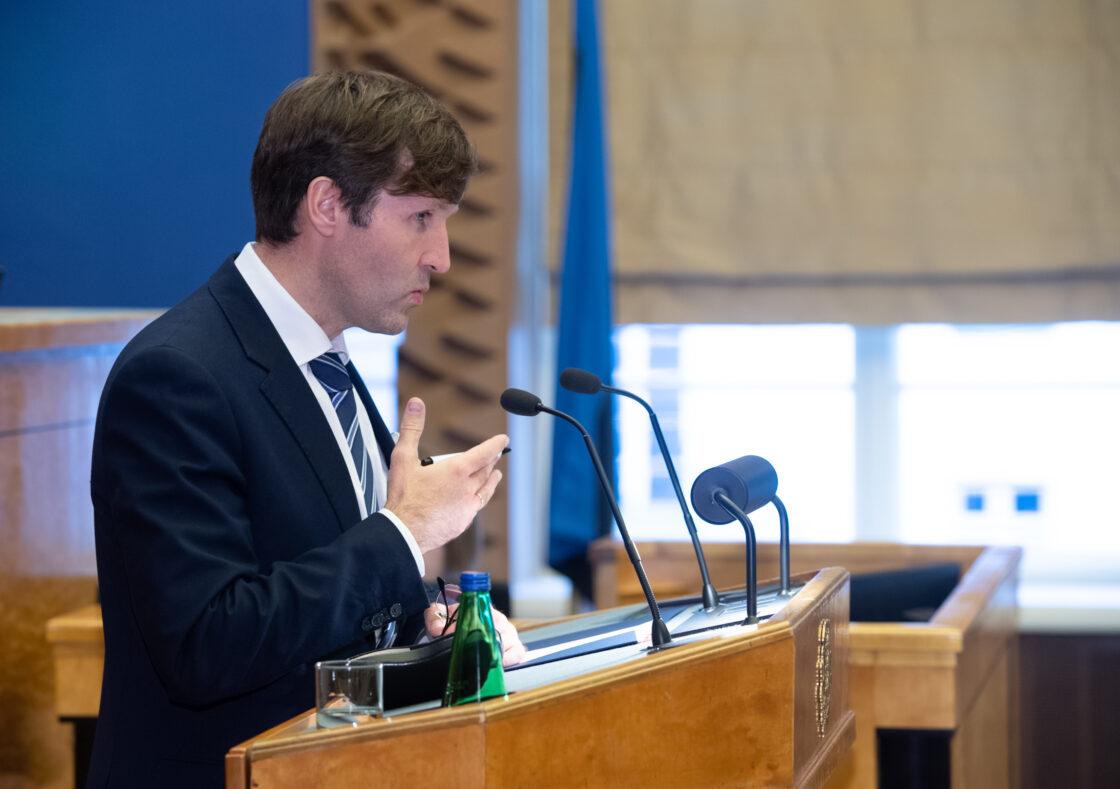 Täiskogu istung, 2021. aasta riigieelarve seaduse eelnõu esimene lugemine