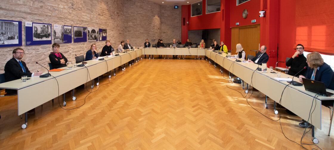 Kultuurikomisjoni kuulamine õpetajate järelkasvu teemadel