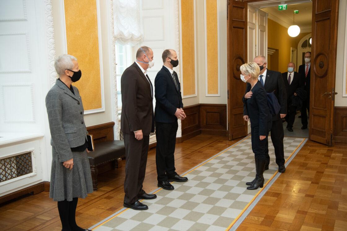 Šveitsi rahvusnõukogu esimehe Isabelle Moret visiit