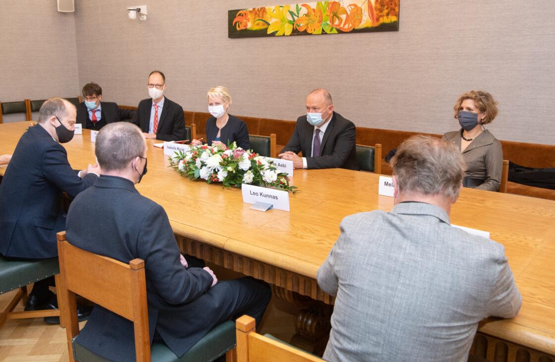 Riigikogu delegatsioon kohtub Šveitsi rahvusnõukogu esimees Isabelle Moret'ga