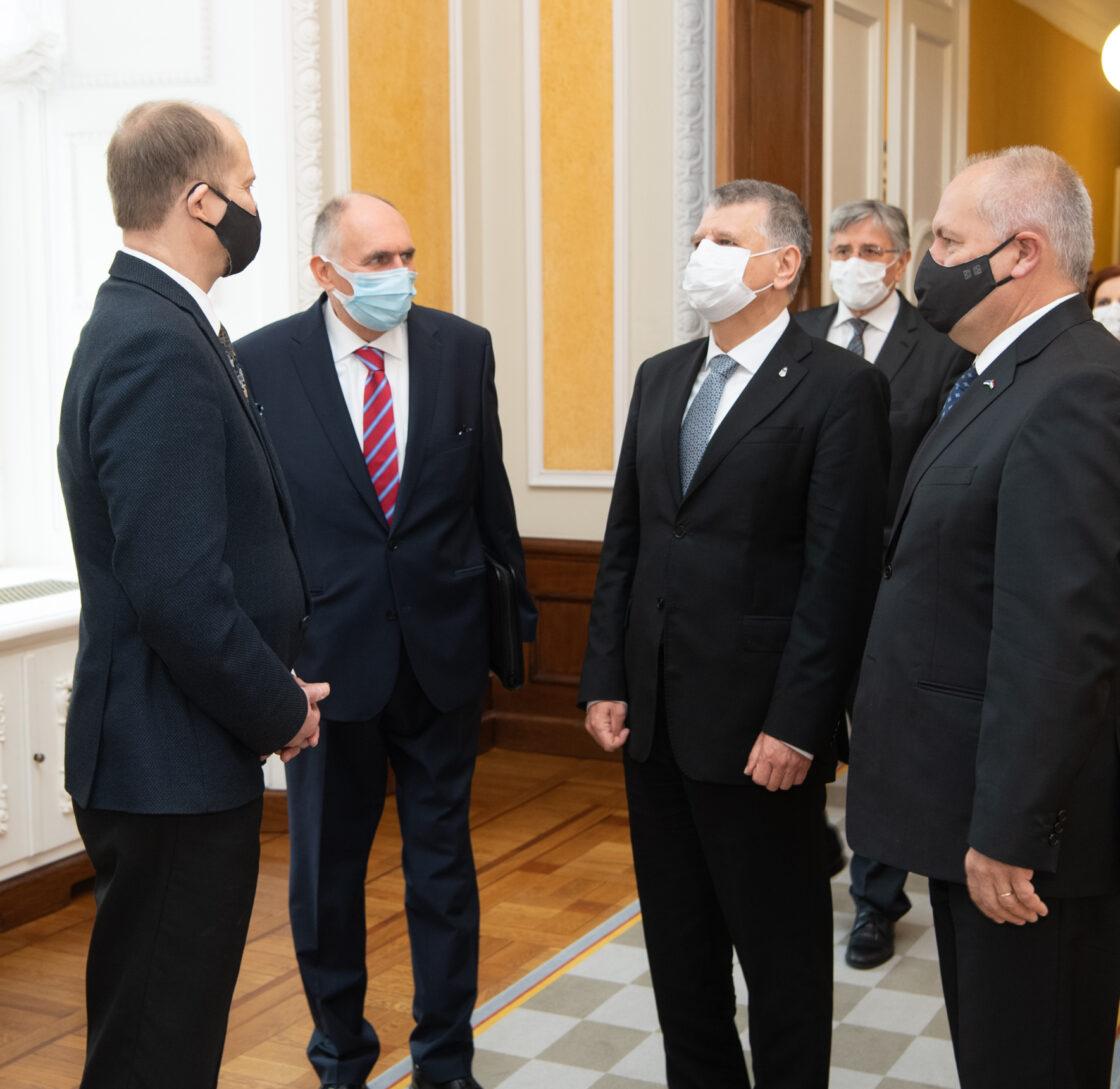Ungari parlamendi esimehe László Kövéri visiit