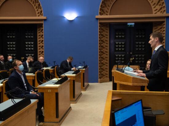 Aastatel 2005 kuni 2009 valitsuse uurimiskomisjoni esimehe Margus Kurmi ettekanne