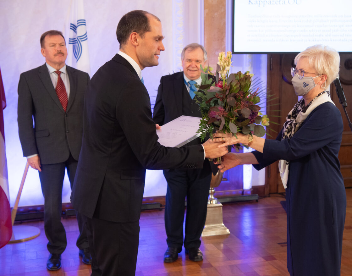 Balti Assamblee kirjandus-, kunsti- ja teadusauhinna, Balti Assamblee medalite ja Balti innovatsiooniauhinna üleandmise tseremoonia