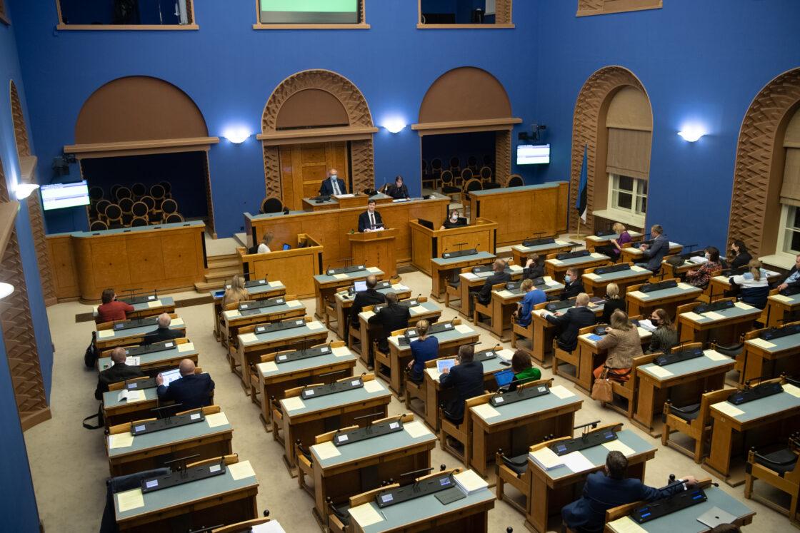 Täiskogu istung, rahandusminister Martin Helme umbusaldamine