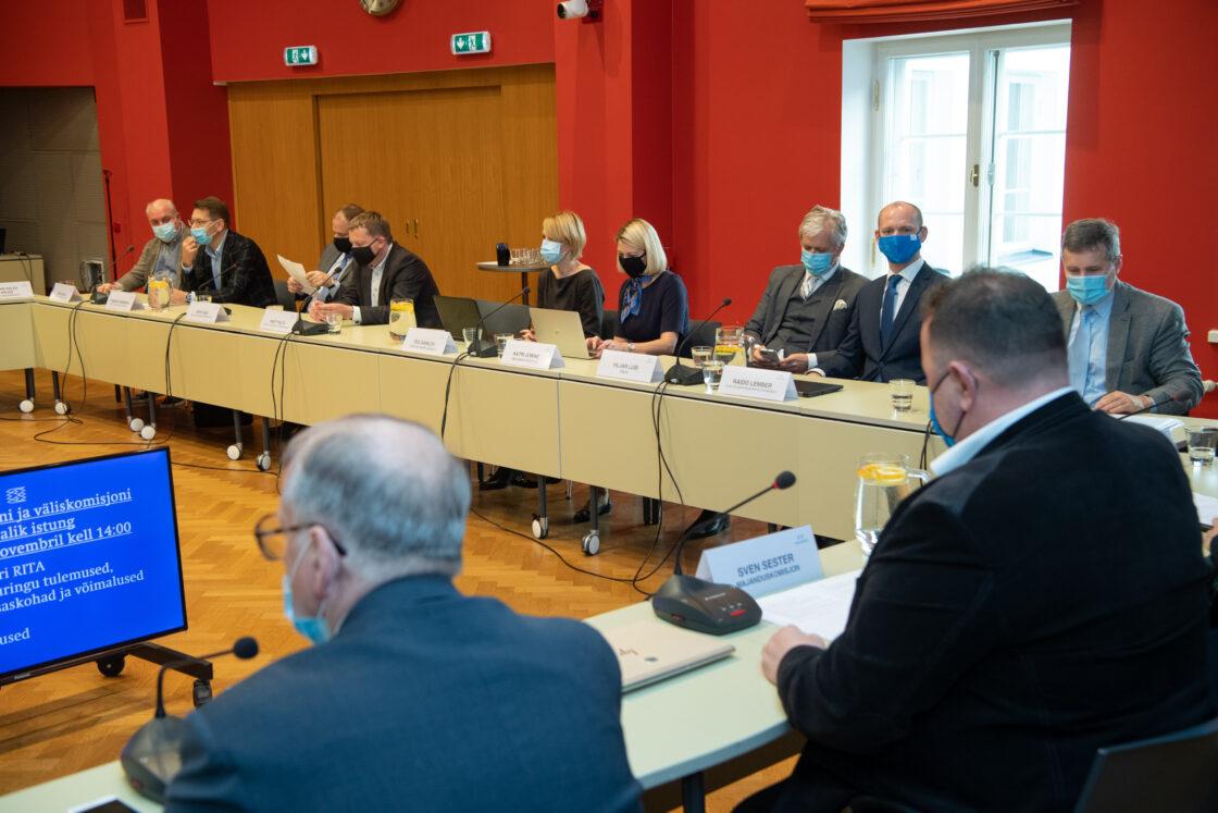 Majanduskomisjoni ja väliskomisjoni ühisistung välisinvesteeringute ja väliskapitali mõjudest