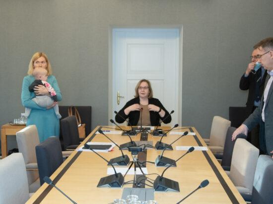Komisjonid videokohtuvad IMFi delegatsiooniga