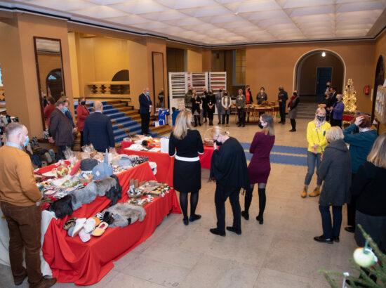 Võrumaa käsitöömeistrite näituse avamine