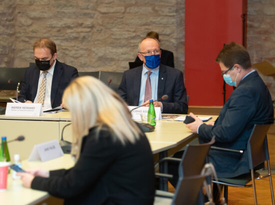 Kultuurikomisjoni ja majanduskomisjoni ühisistung, Eesti teadus- ja arendustegevuse, innovatsiooni ning ettevõtluse arengukavast 2021–2035 (TAIE)