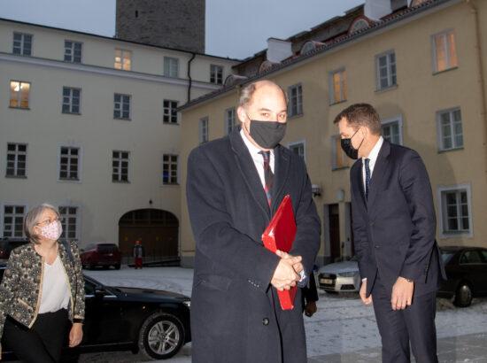 Riigikaitsekomisjoni esimees ja Ühendkuningriigi kaitseminister Ben Wallace