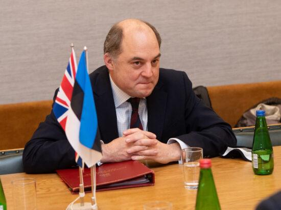 Ühendkuningriigi kaitseminister Ben Wallace