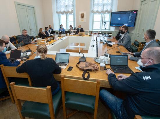 Põhiseaduskomisjoni istung, 10. jaanuar 2020