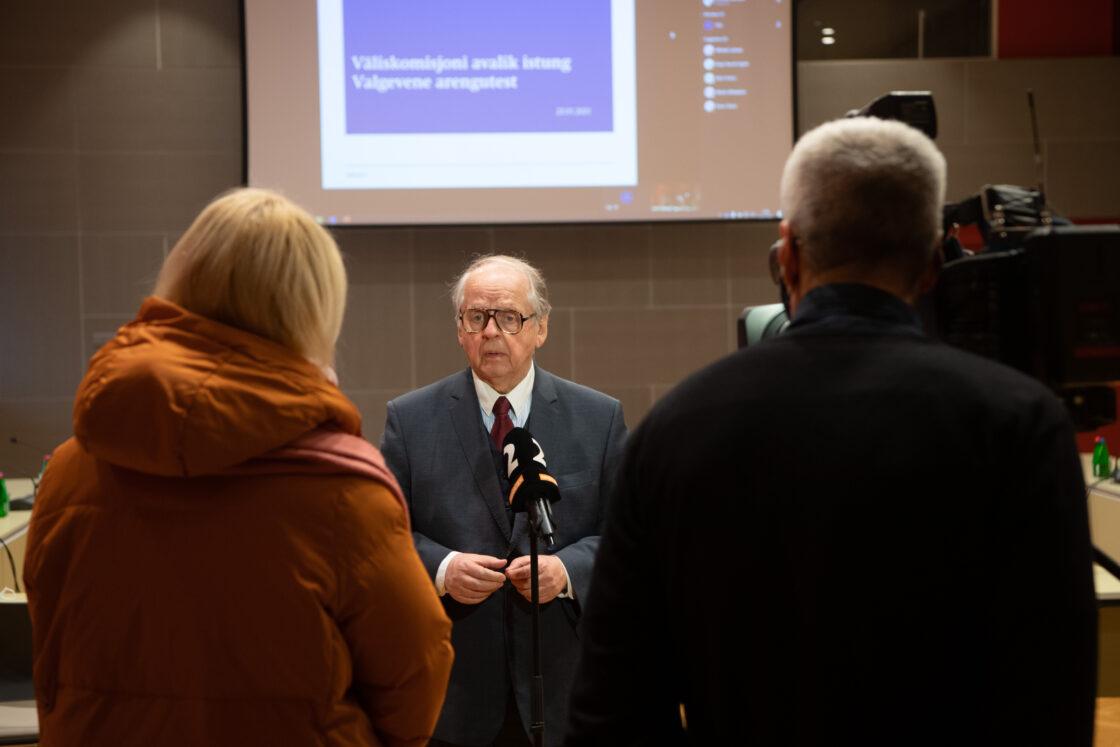 Riigikogu väliskomisjoni esimees Enn Eesmaa