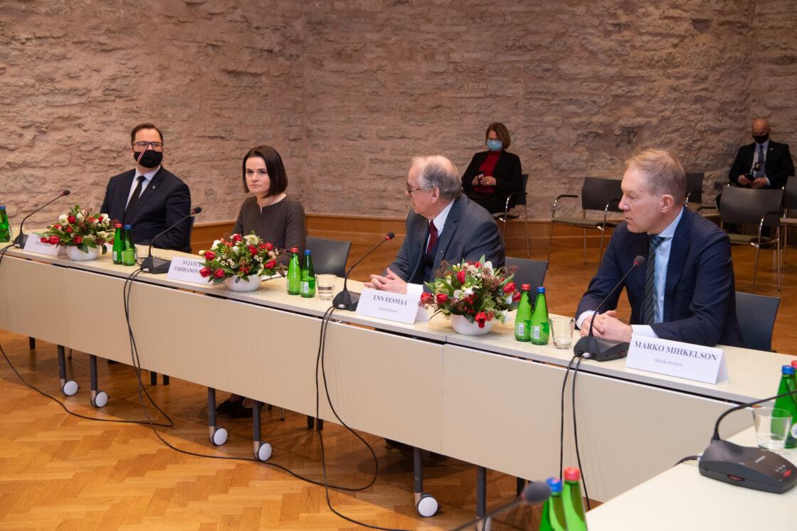 Väliskomisjoni avalik istung, kohtumine Valgevene opositsiooni liidri Svjatlana Tsihhanovskajaga