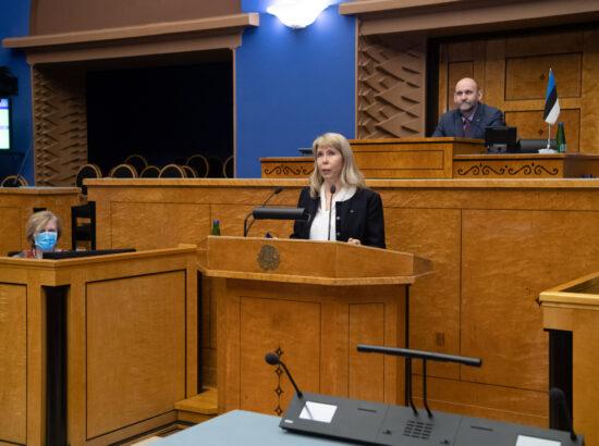 Riigikogu liikme Margit Sutropi ametivanne