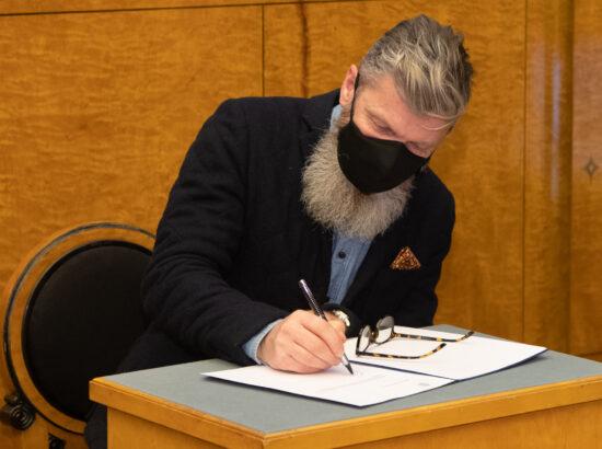 Riigikogu liikme Aivar Viidiku ametivanne