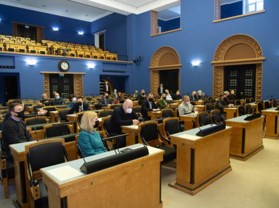 Täiskogu istung, Riigikogu liikme Sulev Kannimäe ametivanne