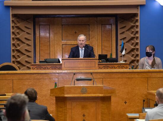 Riigikogu II aseesimees Siim Kallas