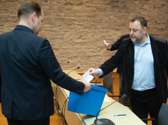 Majanduskomisjoni esimehe ja aseesimehe erakorralised valimised