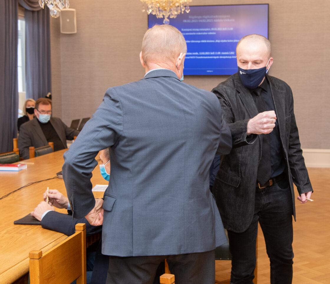 Valimised riigikaitsekomisjonis