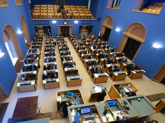 Riigikogu aseesimeeste erakorralised valimised, 8. veebruar 2021