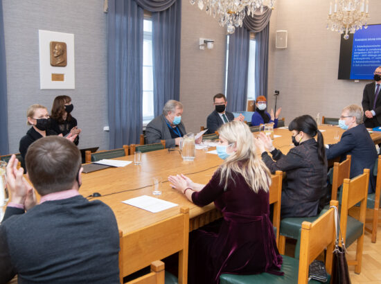 Kultuurikomisjoni esimehe ja aseesimehe valimised