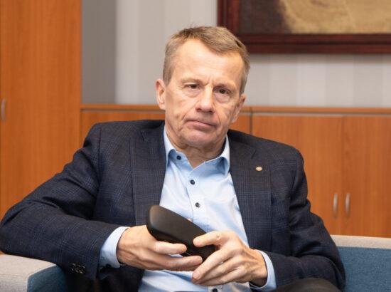 Julgeolekuasutuste järelevalve erikomisjoni esimees Jürgen Ligi