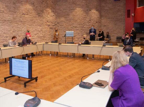 Euroopa Liidu asjade komisjoni esimehe ja aseesimehe valimine, 12. veebruar 2021