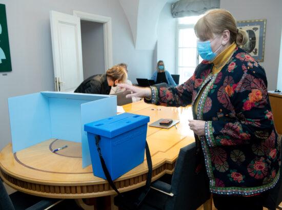 Eesti keele õppe arengu probleemkomisjoni esimehe ja aseesimehe valimine