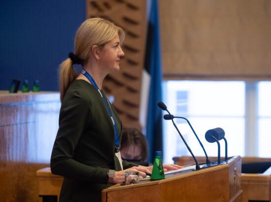 Täiskogu istung, välispoliitika arutelu olulise tähtsusega riikliku küsimusena, 16. veebruar 2021