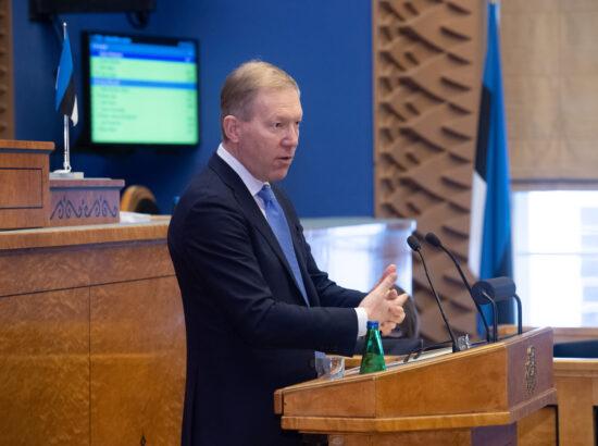 Väliskomisjoni esimees Marko Mihkelson