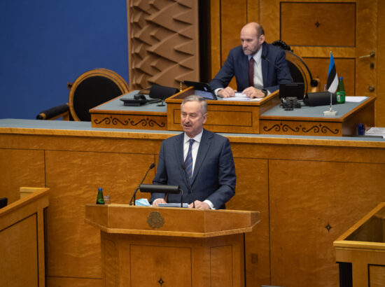 Riigikogu liige Siim Kallas