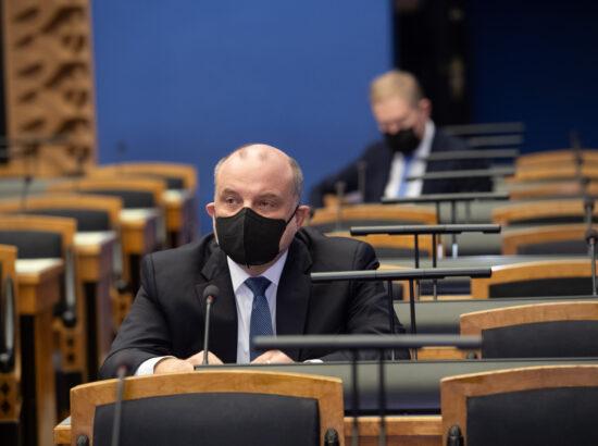 Väliskomisjoni aseesimees Jüri Luik ja esimees Marko Mihkelson