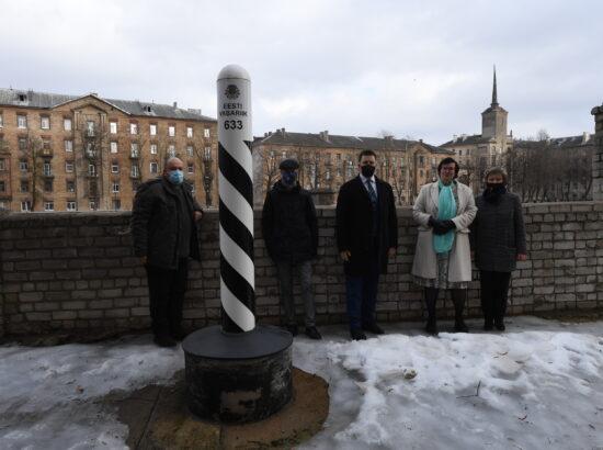 Riigikogu esimehe Jüri Ratase visiit Narva. Narva haigla külastus.