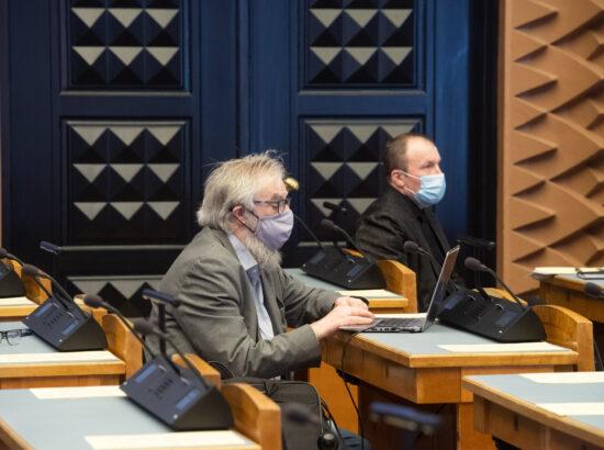 Arutelu tegevusest koroonaviiruse tõrjumisel, 11. märts 2021
