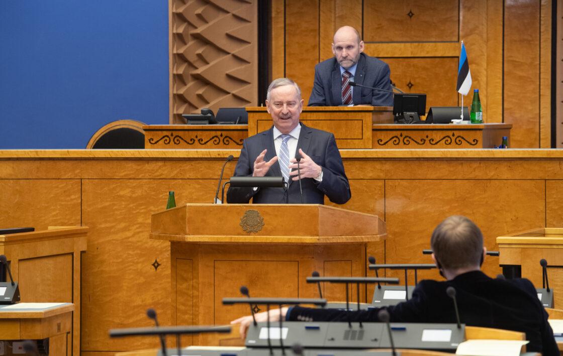 Euroopa Liidu asjade komisjoni esimees Siim Kallas