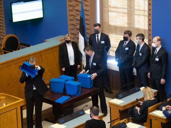 Riigikogu juhatuse valimised 2021