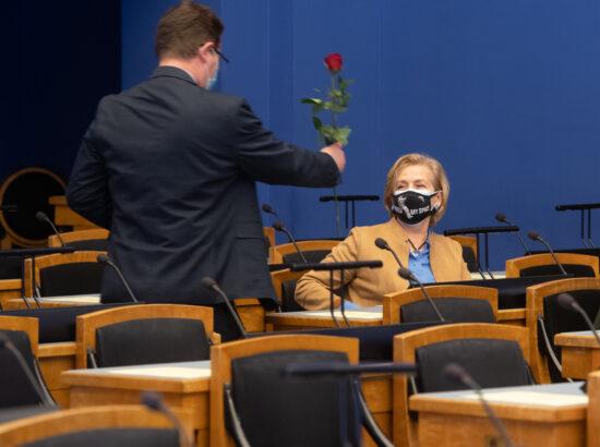 Täiskogu istung, 8. märts 2021