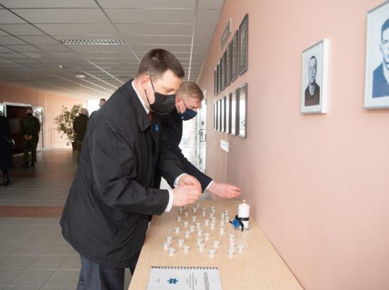 Riigikogu esimees Jüri Ratas veteranipäeva puhul Tapal