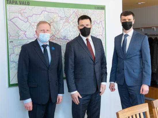 Riigikogu esimehe Jüri Ratase visiit Lääne-Virumaale