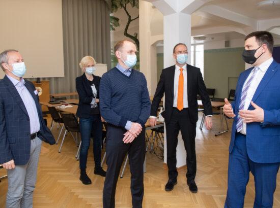 Riigikogu esimehe Jüri Ratase visiit Tartumaale