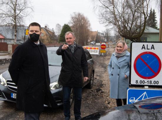 Riigikogu esimehe Jüri Ratase visiit Läänemaale