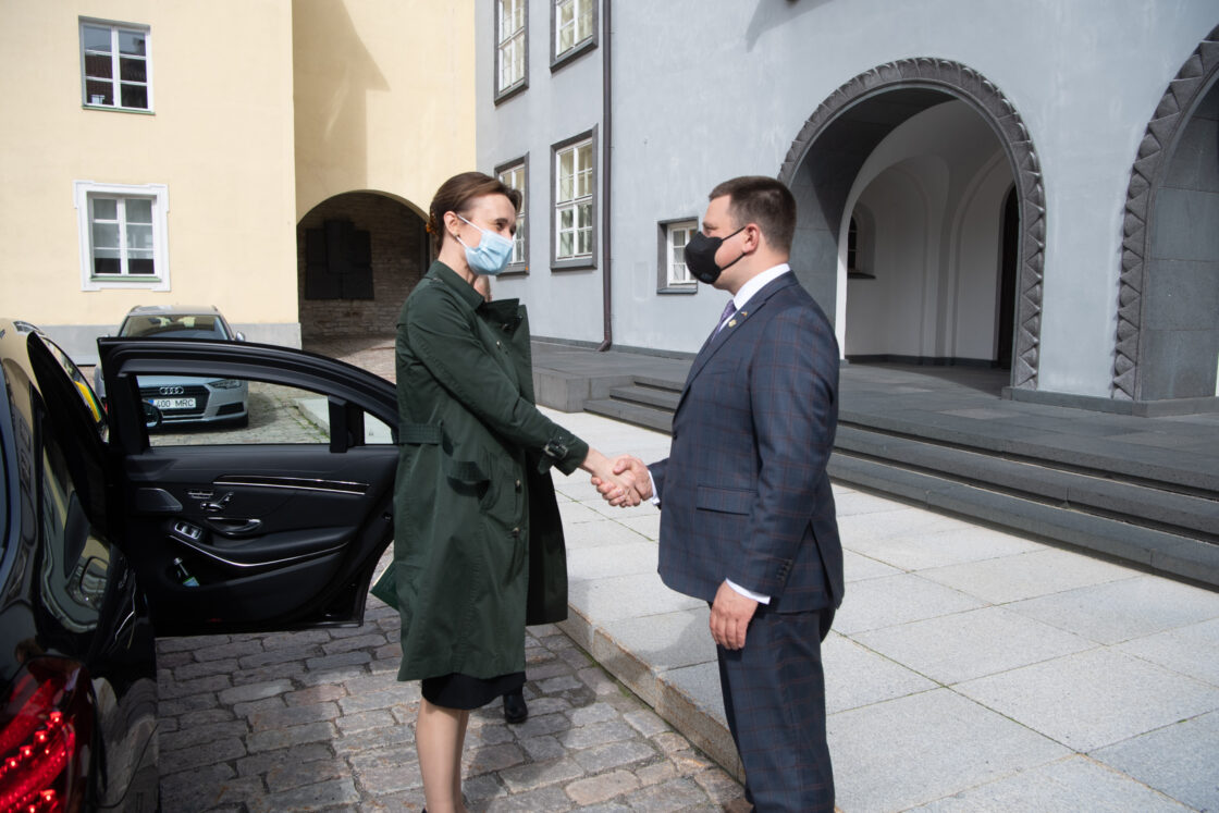 Riigikogu esimehe Jüri Ratase kohtumine Leedu parlamendi esimehe Viktorija Čmilytė-Nielseniga